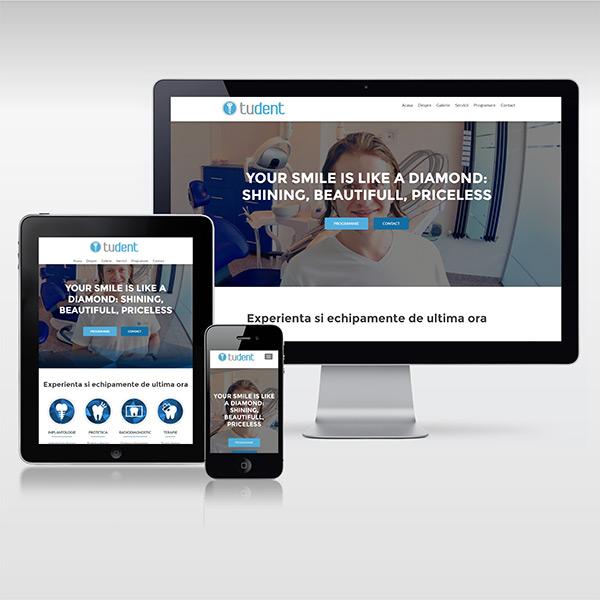 Web Design Responsive - www.tudent.ro