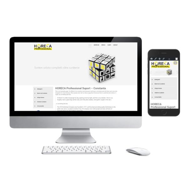 Site de Prezentare Responsive - www.horeca-constanta.ro