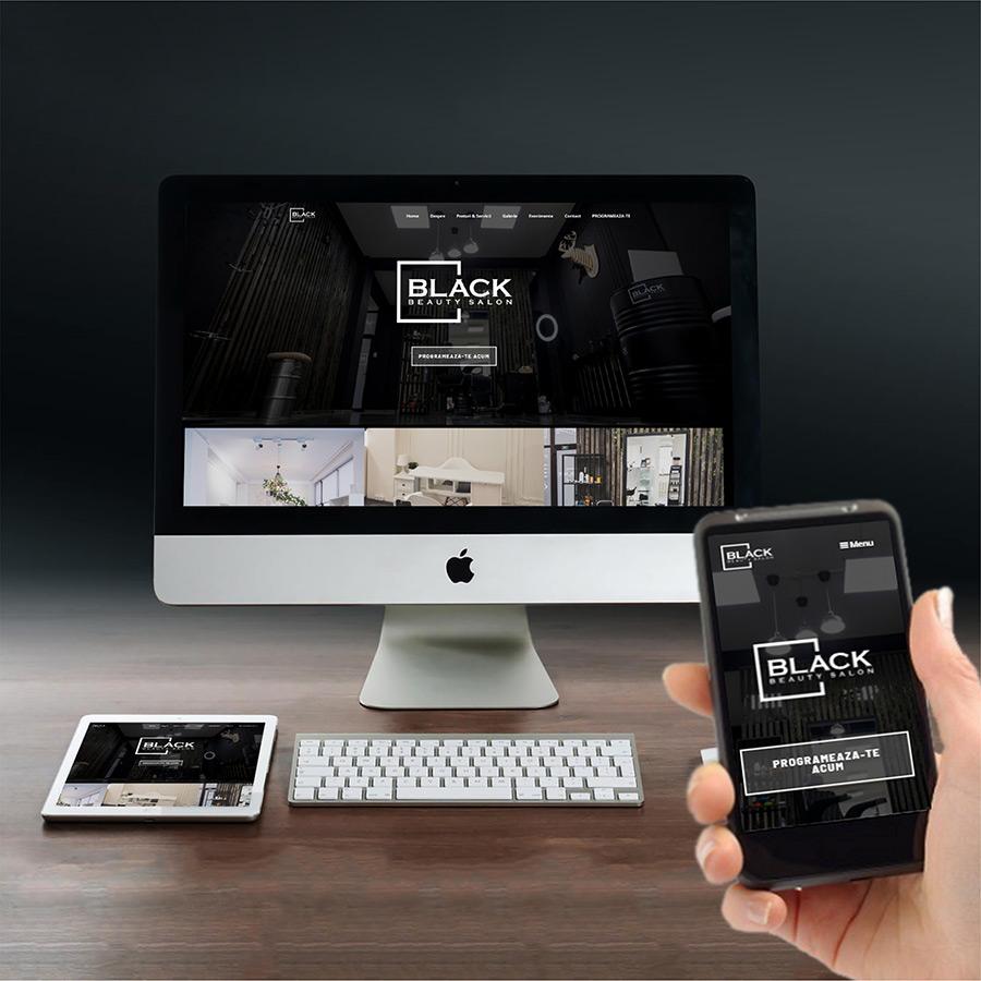 Web Design Responsive - www.blackbeauty.ro
