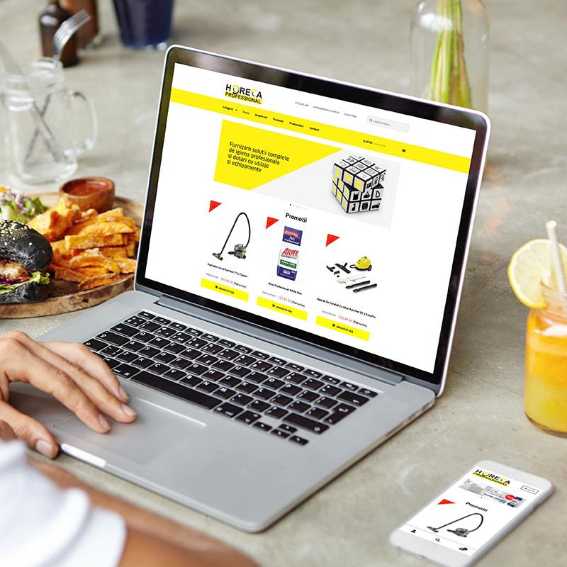 Magazin Online Responsive - www.horeca-store.ro
